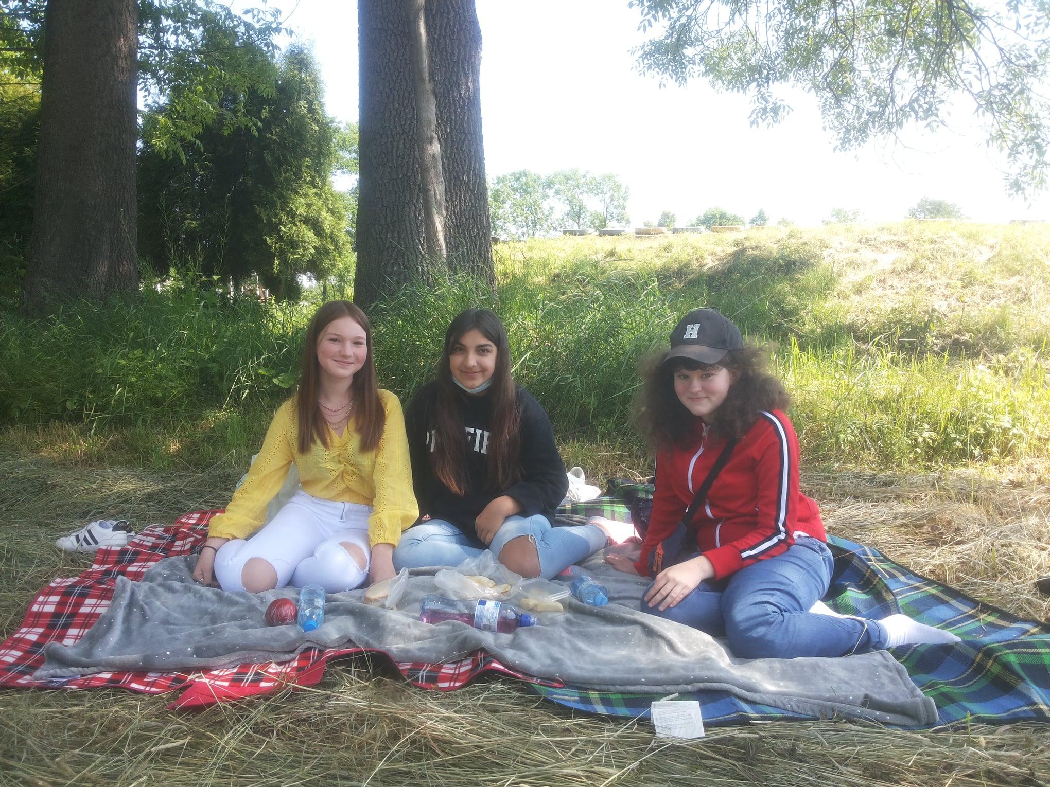 Trzymaj formę - uczniowie podczas pikniku